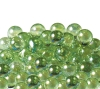12.5mm Glitter Aurora Marbles - light Green