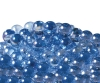 12.5mm Glitter Aurora Marbles - Light Blue