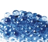 17mm Glitter Aurora Marbles - Light Blue