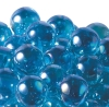 25mm Glitter Aurora Marbles - Light Blue