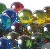 25mm Glitter Aurora Marbles - Assorted