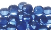 20mm Clear Colored Marbles - Clear Light Blue