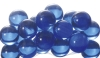 25mm Clear Colored Marbles - Clear Light Blue