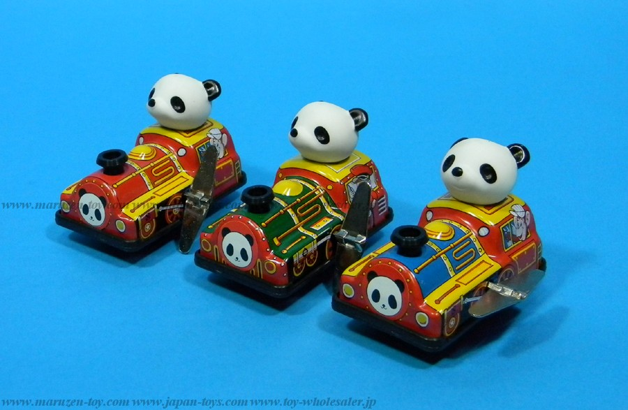 (Sankou-Seisakusyo made in Japan Tin Toys)No.1101 Sankou: Tin Panda Loco (Made in Japan)