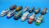 (Sankou-Seisakusyo made in Japan Tin Toys)No.2261 Wind-Up One car train (Assorted 12 Models) -Made in Japan- (each comes with box)