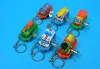 (Sankou-Seisakusyo Made in Japan Tin Toys)No.1011 Wind-Up Mini Vehicle Key Holder (Assorted 6 Models)