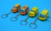 (Sankou-Seisakusyo made in Japan Tin Toys)No.108K Wind-Up Mini Bus Key Holder (Assorted 4 Models)