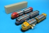 (Sankou-Seisakusyo made in Japan Tin Toys)No.1241 Wind-Up Two-Car Express (Assorted 3 Models) -Made in Japan- (Each comes in a box)