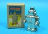 (Sankou-Seisakusyo made in Japan Tin Toys)No.204M Thin Coating Wind-Up Tin Toy Robot -Made in Japan-