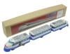 (Sankou-Seisakusyo made in Japan Tin Toys)No.1234 Three-Car Tin Bullet Train 0 Line -Made in Japan-