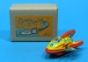 (Sankou-Seisakusyo made in Japan Tin Toys)No.206 Space Rocket (Yellow) -Made in Japan-
