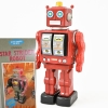 (Metal House) Star Strider Robot -Made in Japan- (Red) (3-5 month to be in stock)
