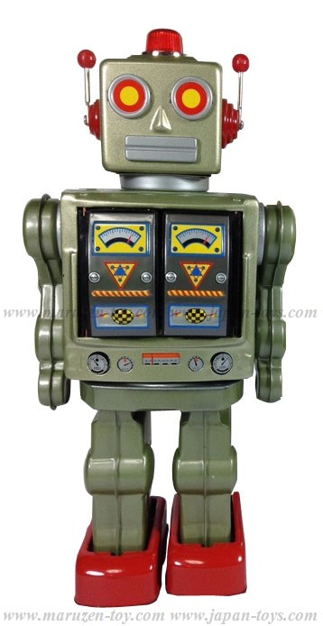 Star Strider Robot -Made in Japan- (Green) (3-5 month to be in stock)