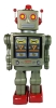 (Metal House) Star Strider Robot -Made in Japan- (Green) (3-5 month to be in stock)
