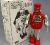 (Metal House) Win Up Hex Head Tin Robot  -Made in Japan-(3-5 month to be in stock)
