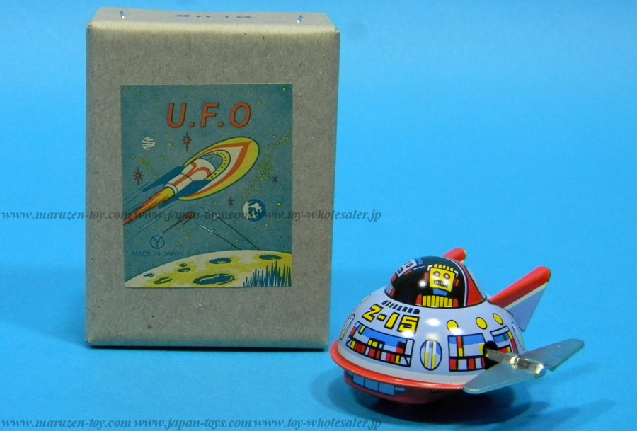 (Sankou-Seisakusyo made in Japan Tin Toys)No.207 Space Patrol (Blue) -Made in Japan-