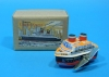 (Sankou-Seisakusyo made in Japan Tin Toys)No.217 Wind-Up United Ship -Made in Japan-