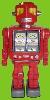 Shooting Star Evil Robot (Red) -Made in Japan-(3-5 month to be in stock)