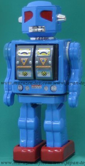 Shooting Star Evil Robot (Blue) -Made in Japan-(3-5 month to be in stock)