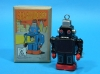 (Sankou-Seisakusyo Made in Japan Tin Toys)No.227 Wind Up Walking Sparkling Robot (Black)