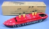 made in Indonesia Pop-Pop Boat Series BP-14 Hand Painting Titanic (Color Design may Change Without Notice)