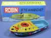 made in Indonesia Pop-Pop Boat Series BP-17 Robin (Color Design may Change Without Notice)