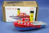 made in Indonesia Pop-Pop Boat Series BP-19 Tug Boat (Color Design may Change Without Notice)