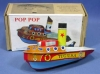 made in Indonesia Pop-Pop Boat Series BP-20 Tug USA (Color Design may Change Without Notice)
