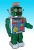 Gear Ace Robot Battery Operated Tin Toy -Made in Japan-(3-5 month to be in stock)