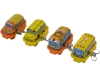 (Sankou-Seisakusyo made in Japan Tin Toys)No.108 Wind-Up Mini Bus (Assorted 4 Models)