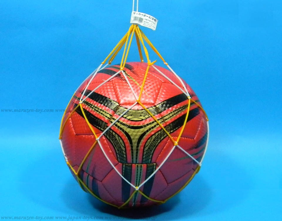 Soccer Ball No5 Red (with vent wire)