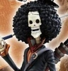 One Piece: Excellent Model Portrait.Of.Pirates Strong Edition Brooke PVC Figure 1/8 Scale