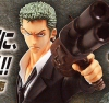 One Piece: Excellent Model Portrait.Of.Pirates Strong Edition Roronoa Zoro ver.2 PVC Figure 1/8 Scale