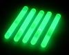 Night Carnival Idea! (LUMICA)Glow Sticks 1.5inch(Green) 5 PCS