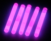 Night Carnival Idea! (LUMICA)Glow Sticks 2inch(Pink) 5 PCS