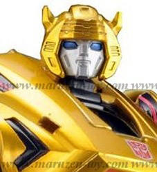 With Sega Card! Japanese Color! Transformers United UN-02 Bumblebee Cybertron Mode