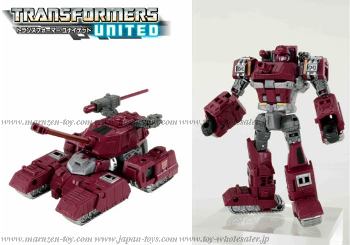 Japanese Color! TakaraTomy Transformers United UN-24 Warpath