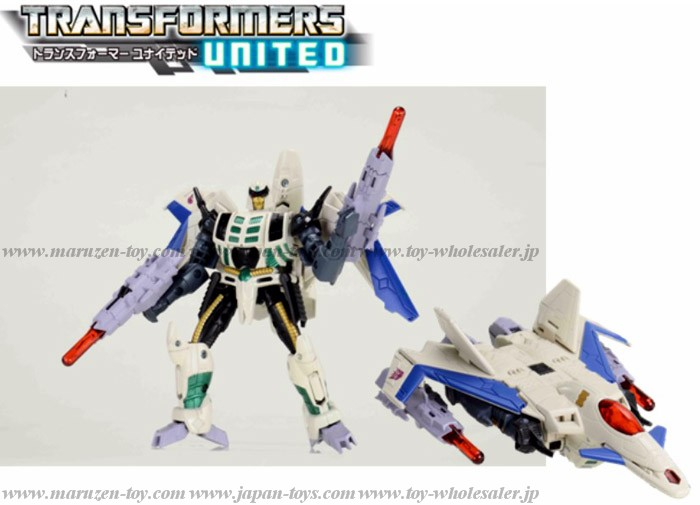 Japanese Color! TakaraTomy Transformers United UN-26 Decepticons Thunderwing