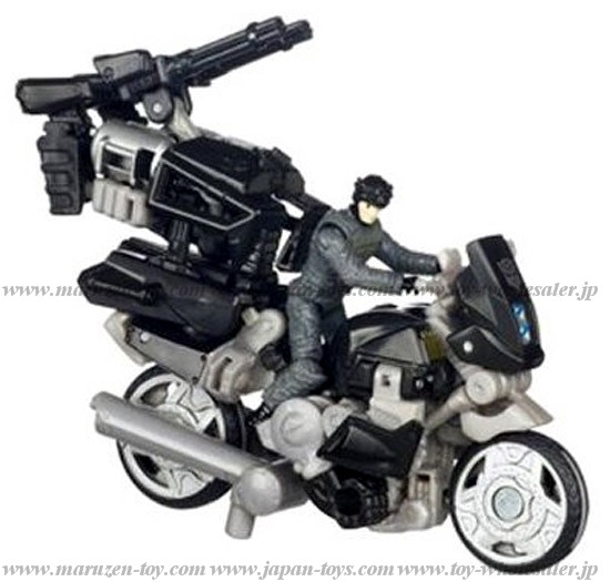 TakaraTomy TRANSFORMERS 3 DA-25 Motorcycle and NEST Soldier (Tentative Name)