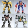 TakaraTomy TRANSFORMERS TF Robot Figure (Assorted 4 Models: Bumblebee-Optimus Prime-Star Scream-Ironhide)
