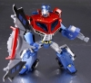 Japan Limited! Metalic Color! TRANSFORMERS ANIMATED 01 Optimus Prime