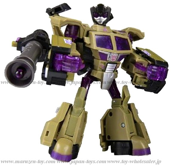 Japan Limited Color! TRANSFORMERS ANIMATED TA36 Swindle
