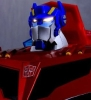 Japan Limited Color! TRANSFORMERS ANIMATED TA-41 Optimus Prime Light & Sound (Roll Out & Command Optimus Prime)