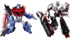 Japan Limited! Metalic Color! TRANSFORMERS ANIMATED Set A - Optimus Prime VS Megatron