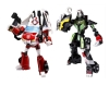 Japan Limited! Metalic Color! TRANSFORMERS ANIMATED Set C - Ratchet VS Rockdown