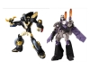 Japan Limited! Metalic Color! TRANSFORMERS ANIMATED Set E - Prowl VS Blitzwing
