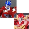 Clear Color! TRANSFORMERS ANIMATED Optimus Prime & Rodimus