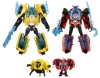TakaraTomy Transformers: Robots in Disguise TAV44 Bumblebee & Sideswipe Sublime Armor Set