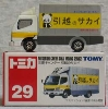 [TakaraTomy] BOX Tomica No.29 Mitsubishi Canter Sakai Moving Service
