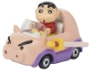 [TakaraTomy] Dream Tomica RIDE ON R07 Crayon Shin-chan X Buriburi-Zaemon Car